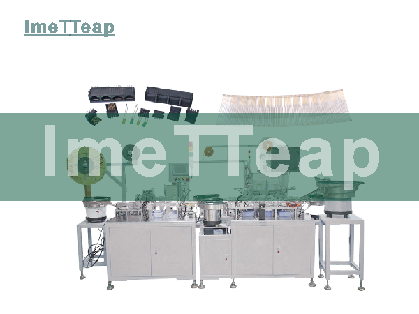 Full Automatic RJ45 Jack Assembly Manufacturing Machine
