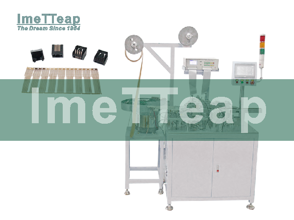 RJ 45  Connector Production Machine